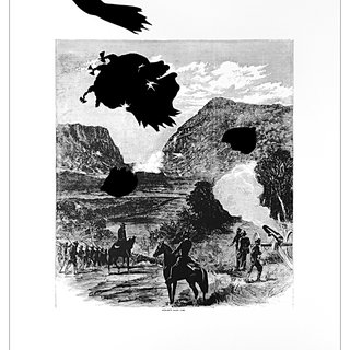 Buzzard's Roost Pass from Harper's Pictorial History of the Civil War (Annotated), by Kara Walker