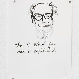 C word for me is Capitalist, Feel the Bernie, Dreams of Ivanka Trump art for sale