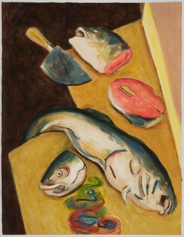 main work - Karen Heagle, Fishheads (I)
