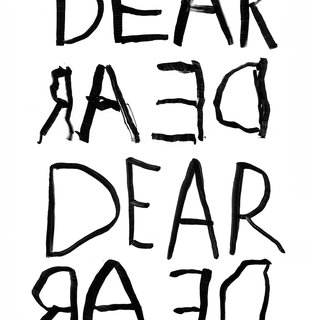 DEAR (written simultaneously with right hand I to r and left hand r to I) art for sale
