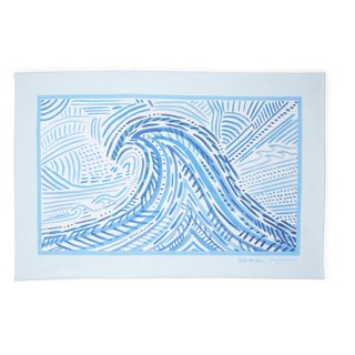 """MALIBU"" BEACH TOWEL art for sale"