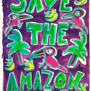 Save The Amazon (Purple) art for sale