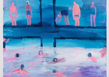 Katherine Bradford - Pool Party
