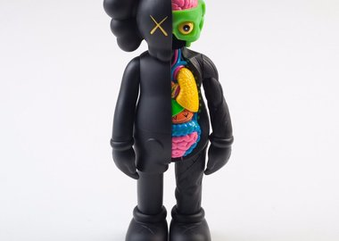 KAWS - Companion Flayed (Black)