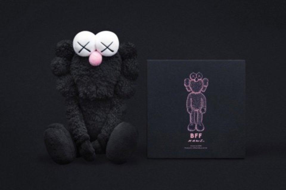 Kaws Bff Plush Doll Black For Sale Artspace