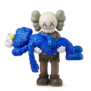 KAWS, GONE (Brown/Blue)