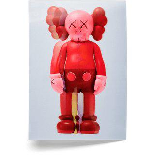KAWS, Companion (red)