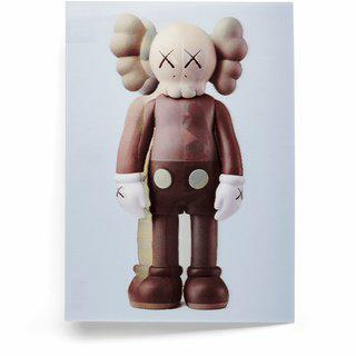 KAWS, Companion (brown)