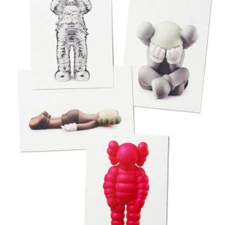 The Vinyl Toys print set (x4) art for sale