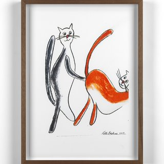 Fisting Cats art for sale
