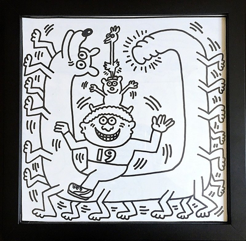 by keith_haring - Coloring Book (One Plate)