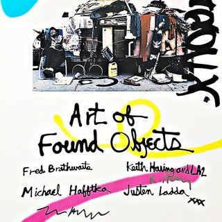 Art of Found Objects (Hand Signed) art for sale