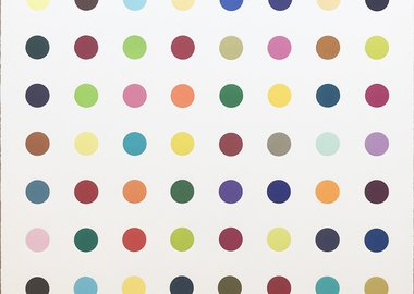 work by Damien Hirst - L-Isoleucine Methyl Ester