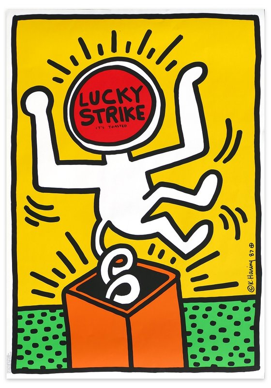 by keith_haring - Lucky Strikes