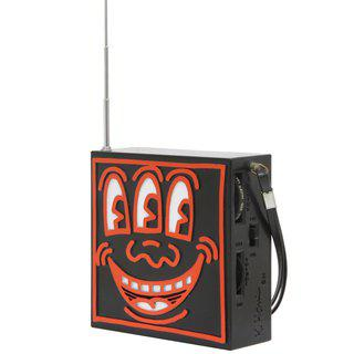 Pop Shop AM / FM Plastic Radio (Red and Black) art for sale