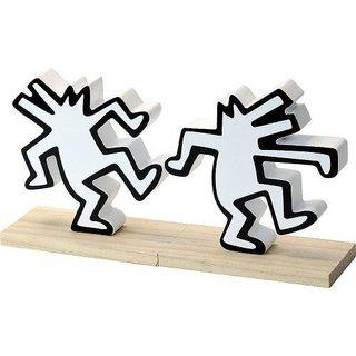 Dancing Dogs - Bookends art for sale