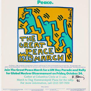 The Great Peace March Print art for sale