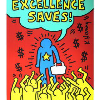 Excellence Saves art for sale