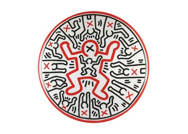work by Keith Haring - Plate 1