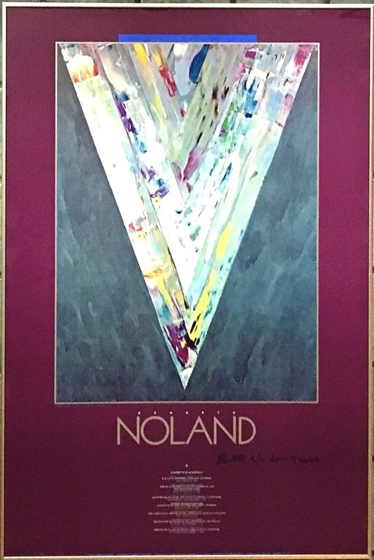 by kenneth_noland - NOLAND (Hand Signed)