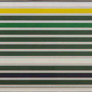 Linear composition of tones of color that are mostly green art for sale