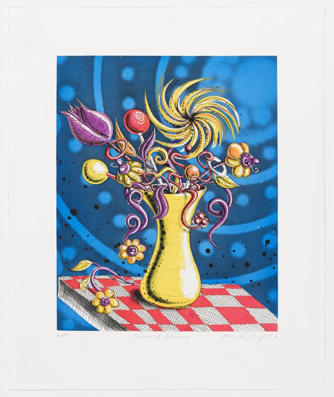 Kenny Scharf, Towers of Flowers