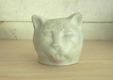 work by Kiki Smith - Cat
