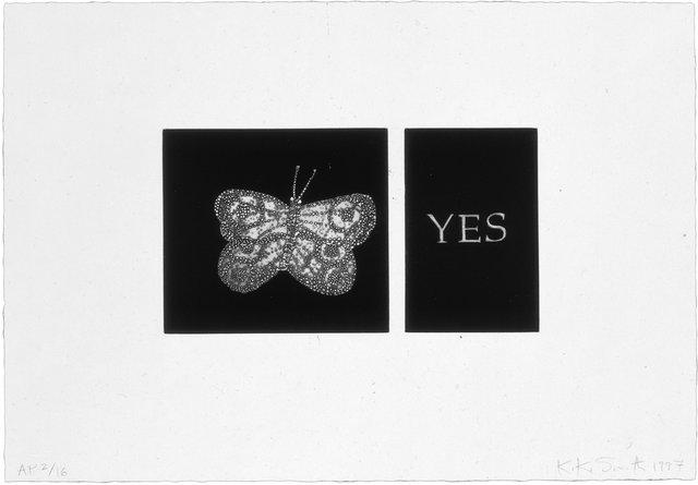 Kiki Smith - Yes, Print