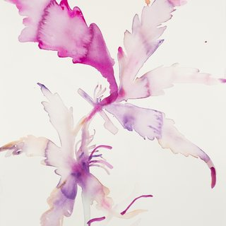 Small Purple Leaves art for sale