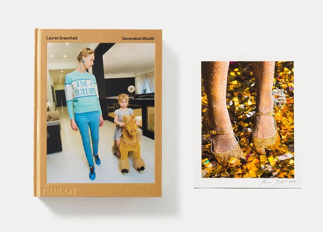 Lauren Greenfield - Gold Shoes Limited Edition & Lauren Greenfield: Generation Wealth, Print