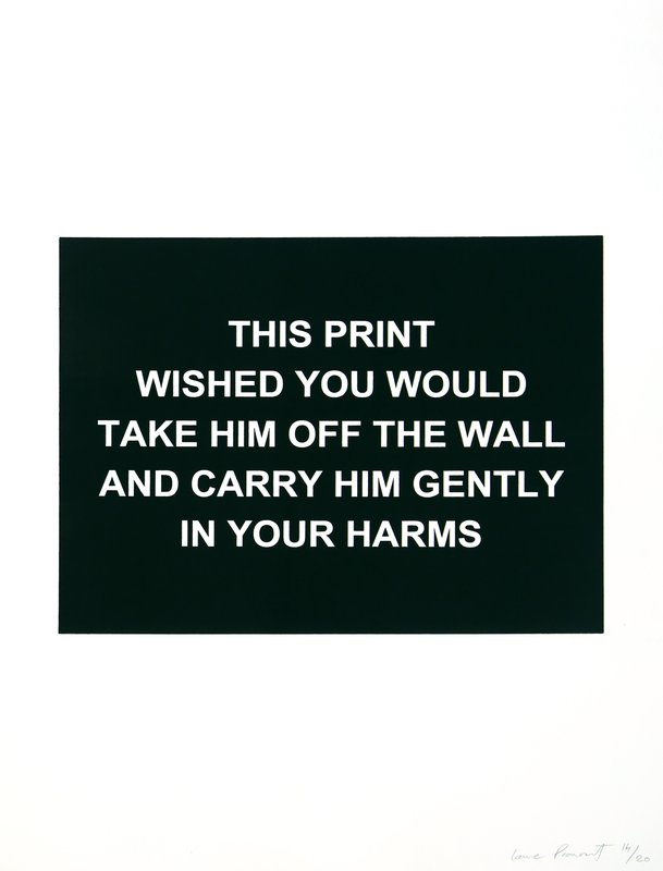 Laure Prouvost, This print wished you would...
