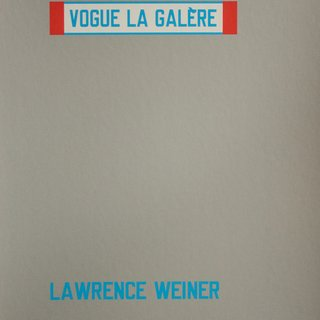 Vogue La Galère art for sale