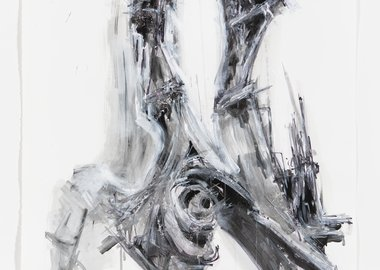work by Lee Bul - Untitled Drawing for Untitled Sculpture (M4)