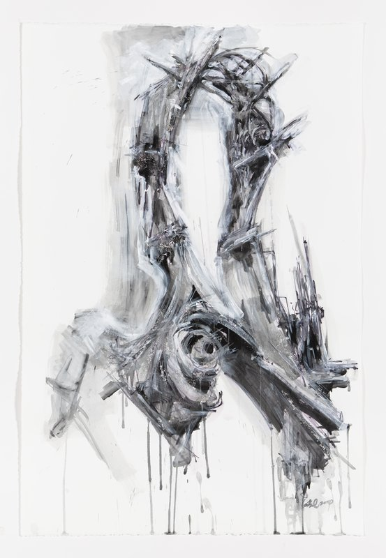 Lee Bul, Untitled Drawing for Untitled Sculpture (M4)