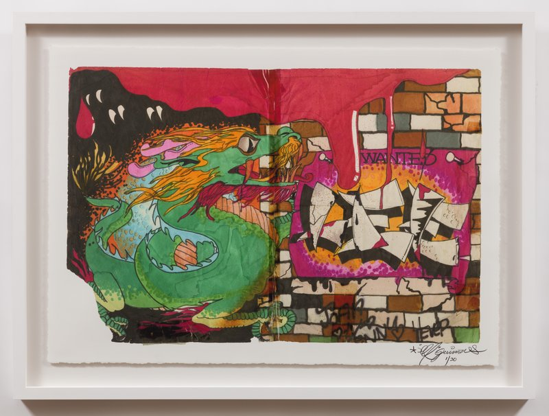 Lee Quinones Year Of The Dragon For Sale Artspace