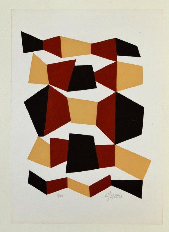 Leon Gischia Dark Composition For Sale Artspace