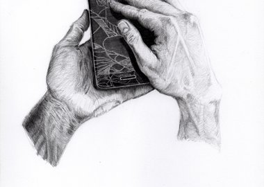 "work by TECH-ART: Soul for technology ® Artwork by Leon Reid IV - Tech-Art: Soul for Technology™ Tech Sketch™ ""Cr..."