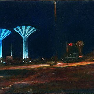 Lewis Chapman, Ahmadi Night Towers