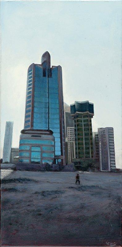 Lewis Chapman - Kuwait City Sunrise for Sale   Artspace