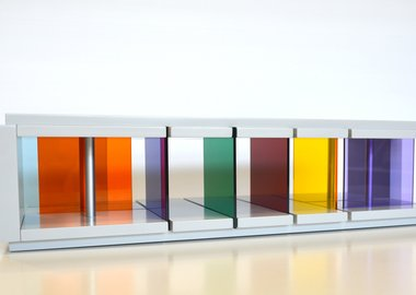 work by Liam Gillick - Recessed Discussion Stream