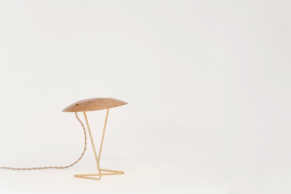 Lindsey Adelman, Hammered Bronze Table Light