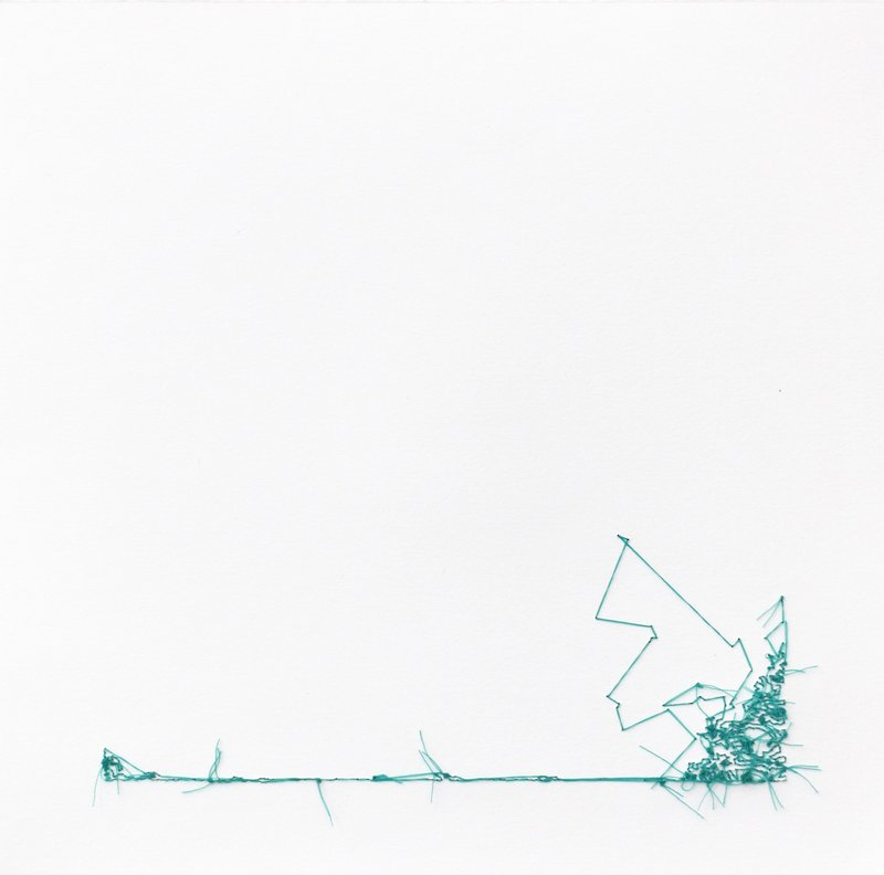 Lisa Kellner, Thread Drawing #1 -