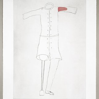 Louise Bourgeois, Topiary: Amputee with Peg Leg
