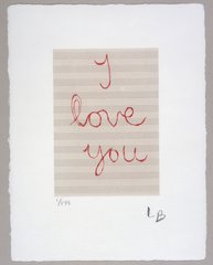 I Love You, by Louise Bourgeois