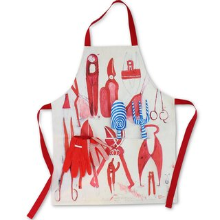 Garden Tool & Apron Set art for sale