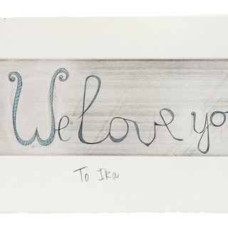 We Love you art for sale