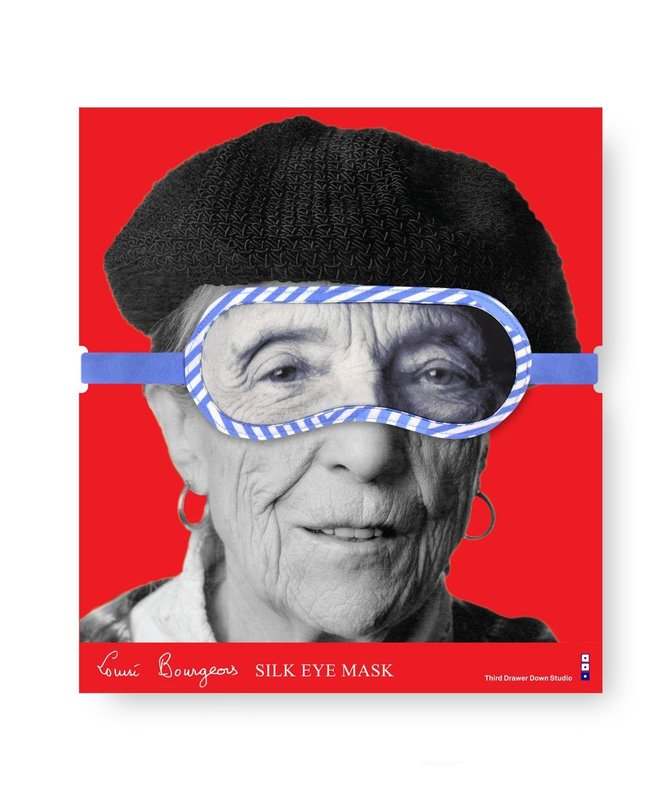 by louise_bourgeois - Silk Portrait Eye Mask