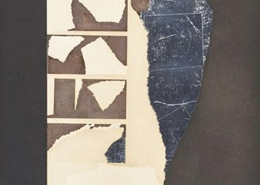 work by Louise Nevelson - Presence Graphic