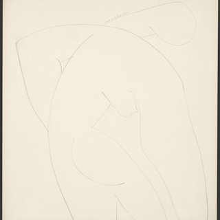 Louise Nevelson, Nude
