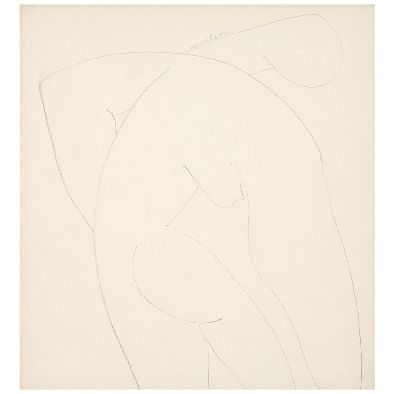 Louise Nevelson, Nude -